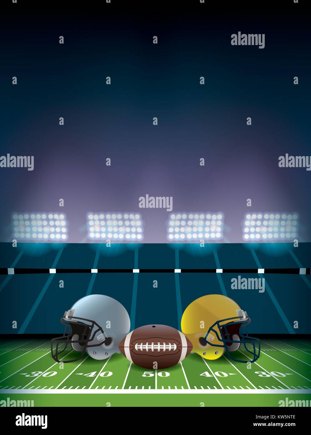 an american football stadium and field with helmets and ball stock vector image art alamy https www alamy com stock photo an american football stadium and field with helmets and ball illustration 170386622 html