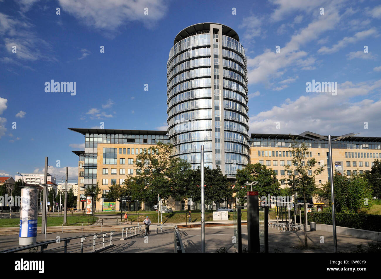 World Trade centre, Dresden, World Trade Center Stock Photo