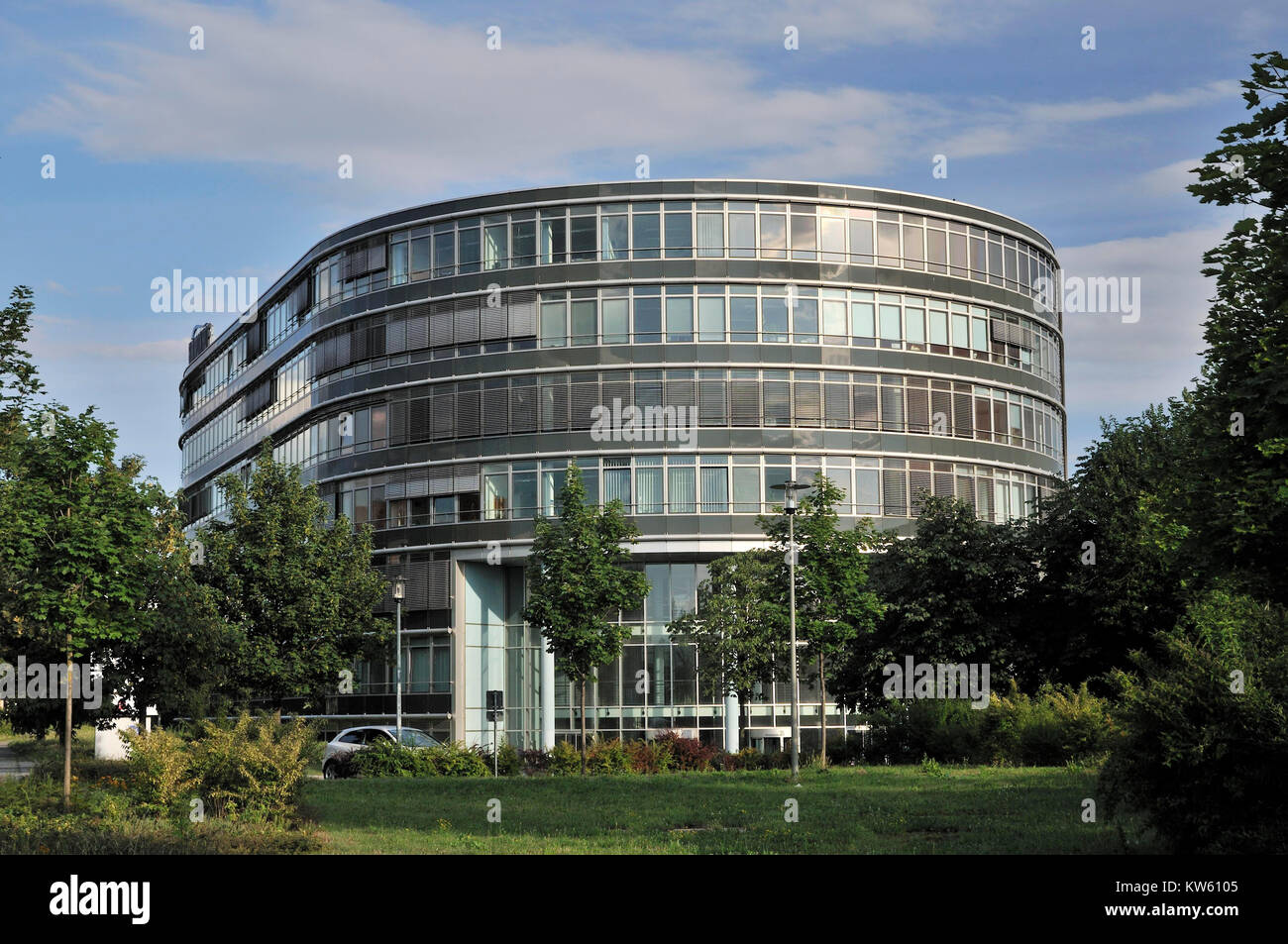Office complex Ammonhof, Dresden, Buerokomplex Ammonhof Stock Photo