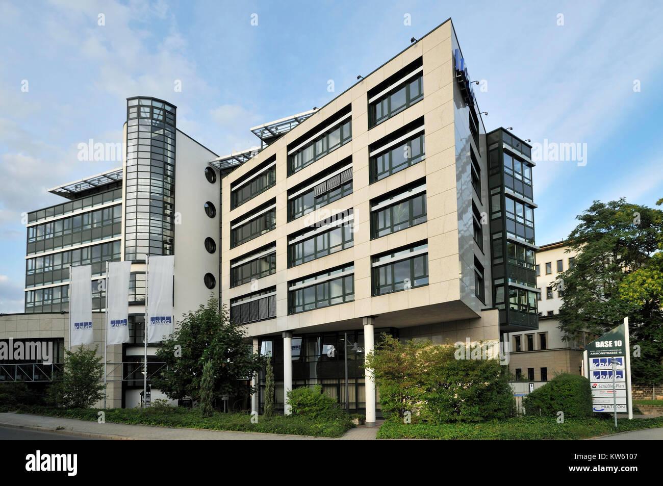Economic check society KMPG Europe LLP, Dresden, Wirtschaftspruefungsgesellschaft KMPG Europe  LLP Stock Photo