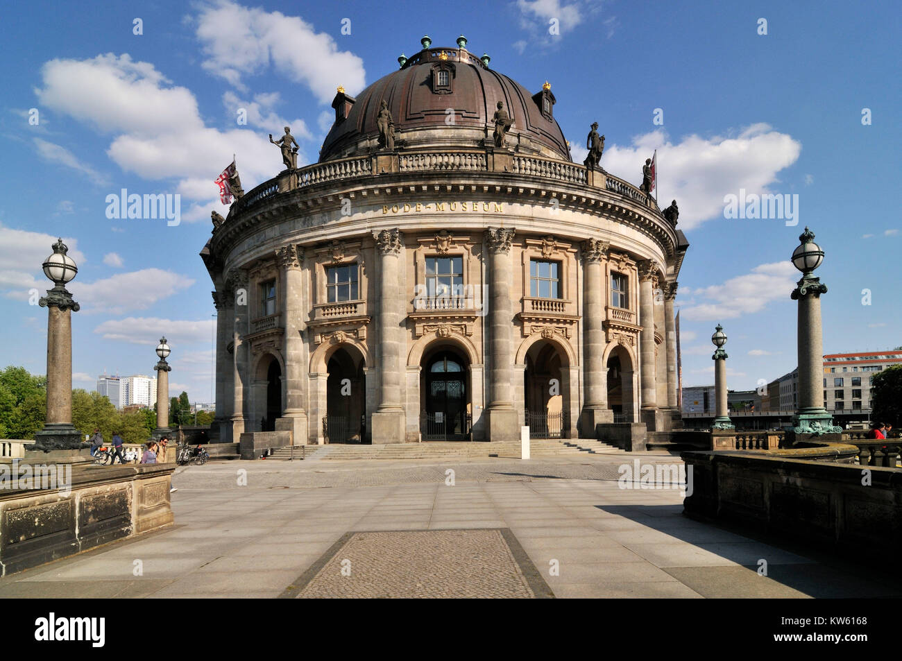 Bode museum on the museum island,  , Bode Museum auf der Museumsinsel Stock Photo