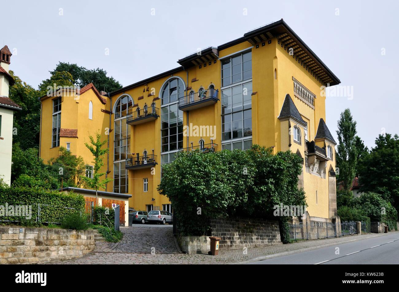 Dresden artist's house , Dresden Kuenstlerhaus - Stock Image
