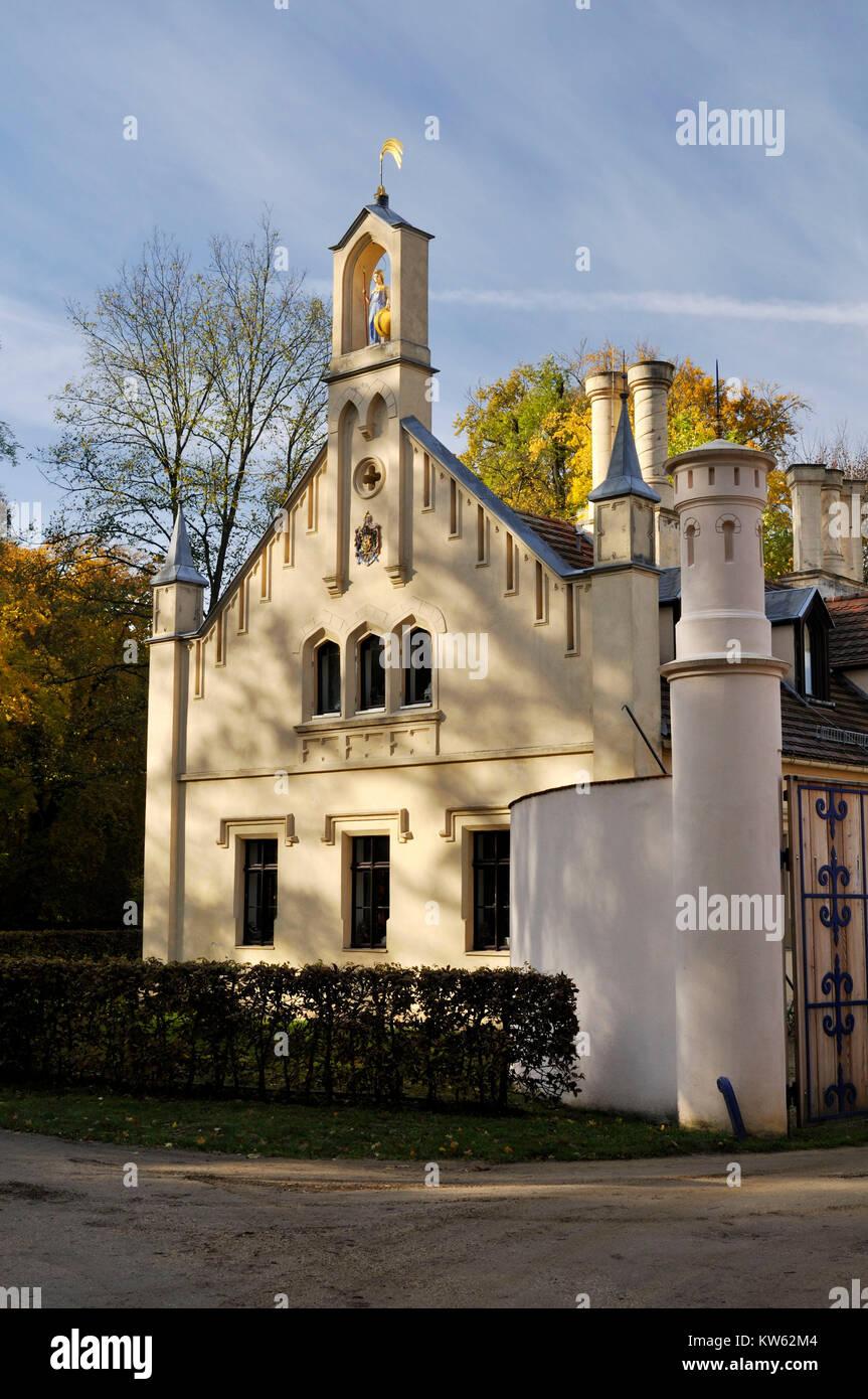 Prince Pueckler Park Branitz, Fuerst Pueckler Park Branitz Stock Photo