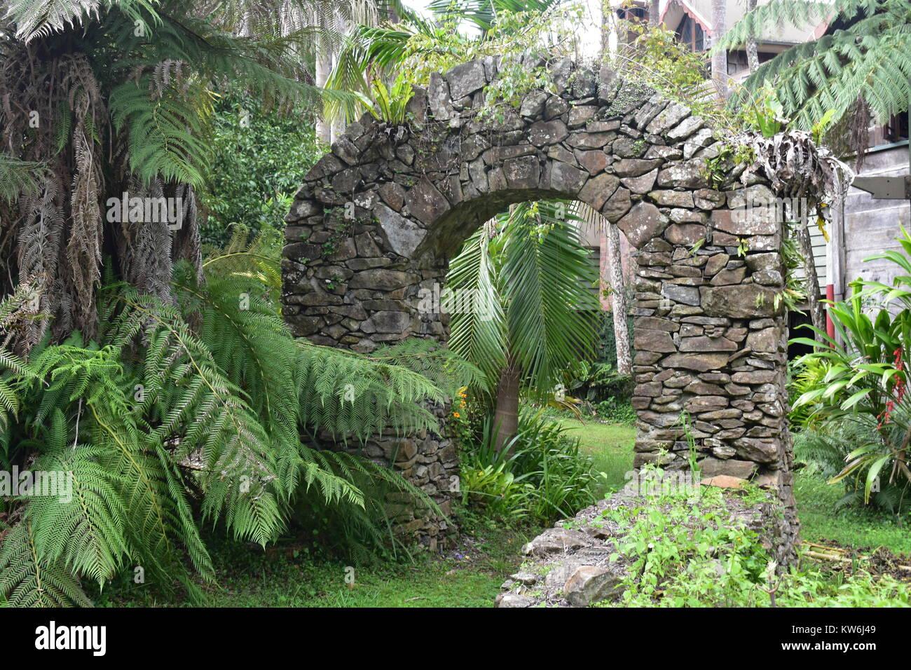 Stone Archway - Stock Image