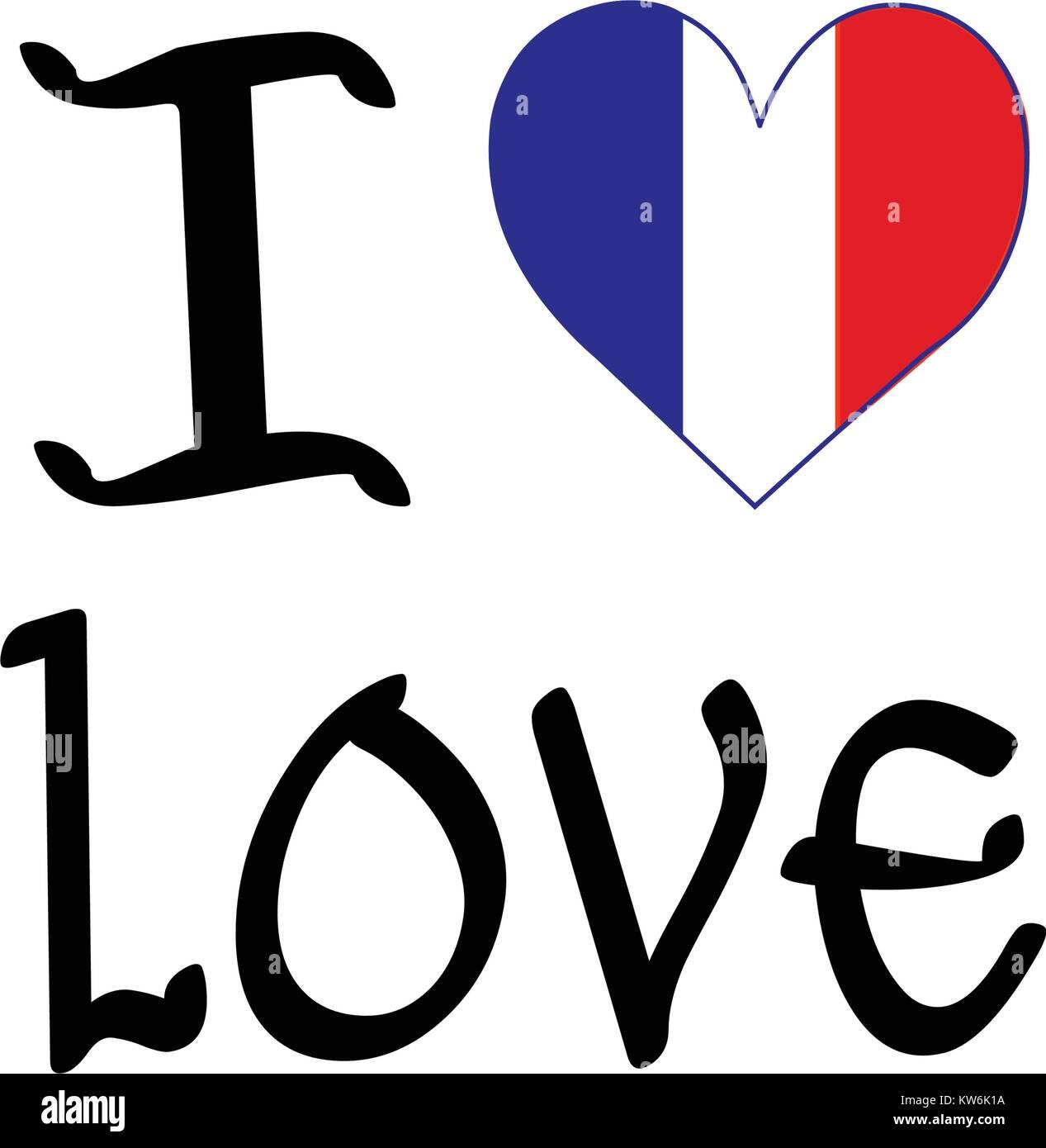 Commemorative France Symbol - Stock Image