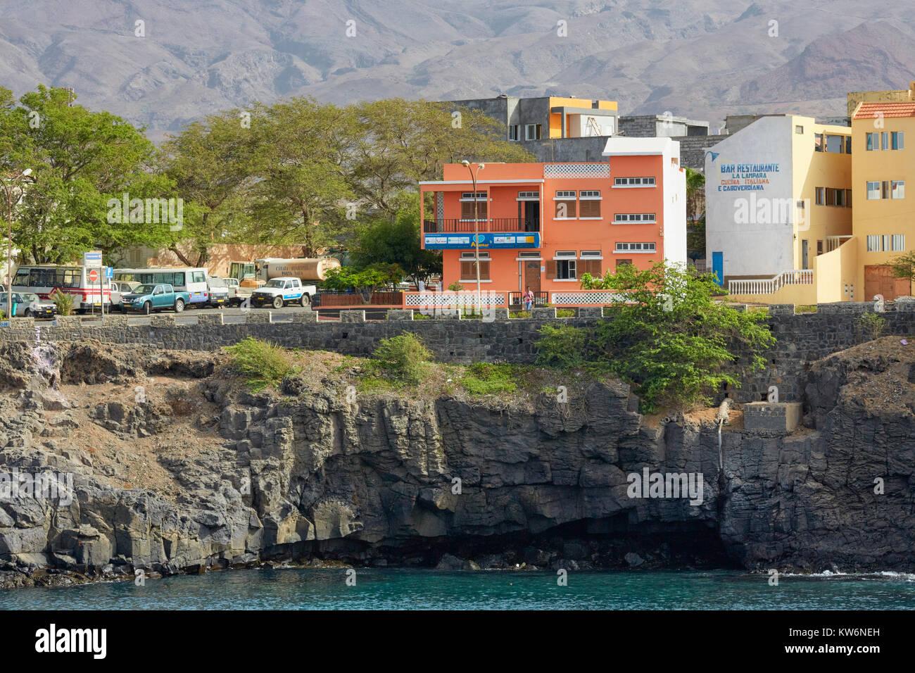 Porto Novo, Santo Antao, Cape Verde (Cabo Verde) - Stock Image