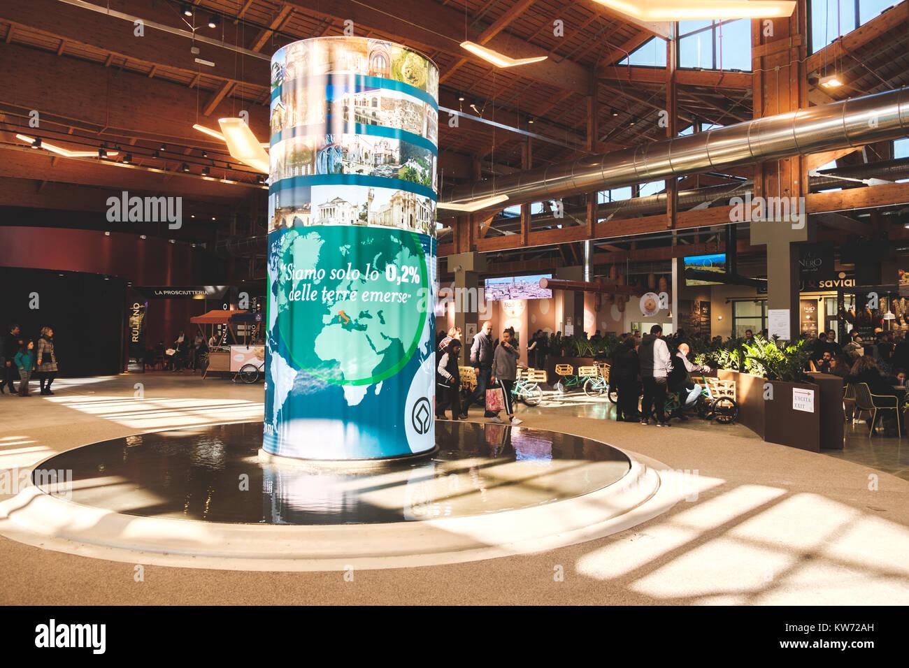 Fico Eataly World Fabbrica Italiana Contadina showcase Italian food companies - Stock Image