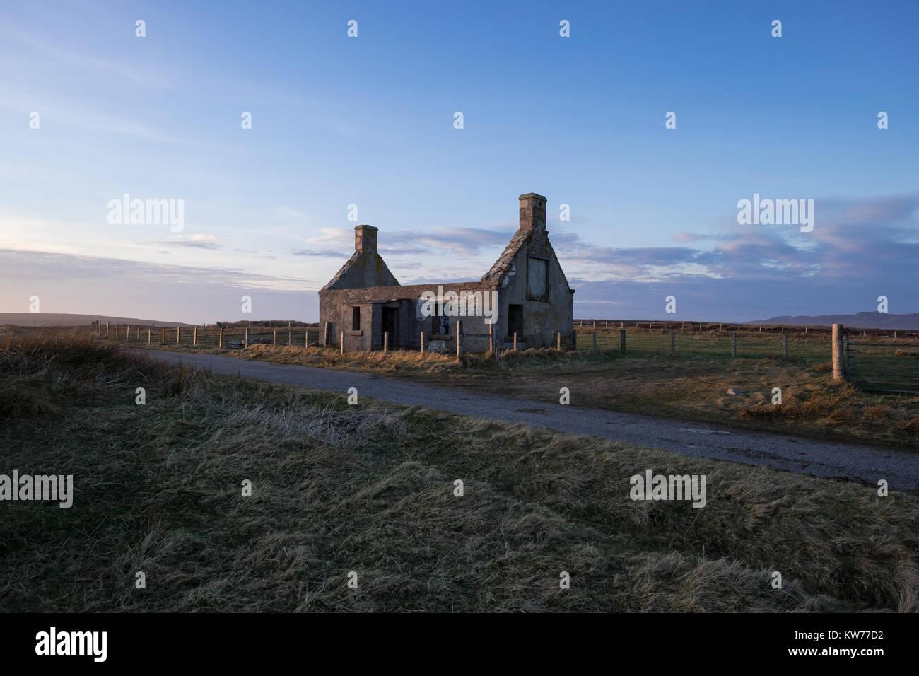 Moine House, Tounge, Sutherland, Scotland - Stock Image