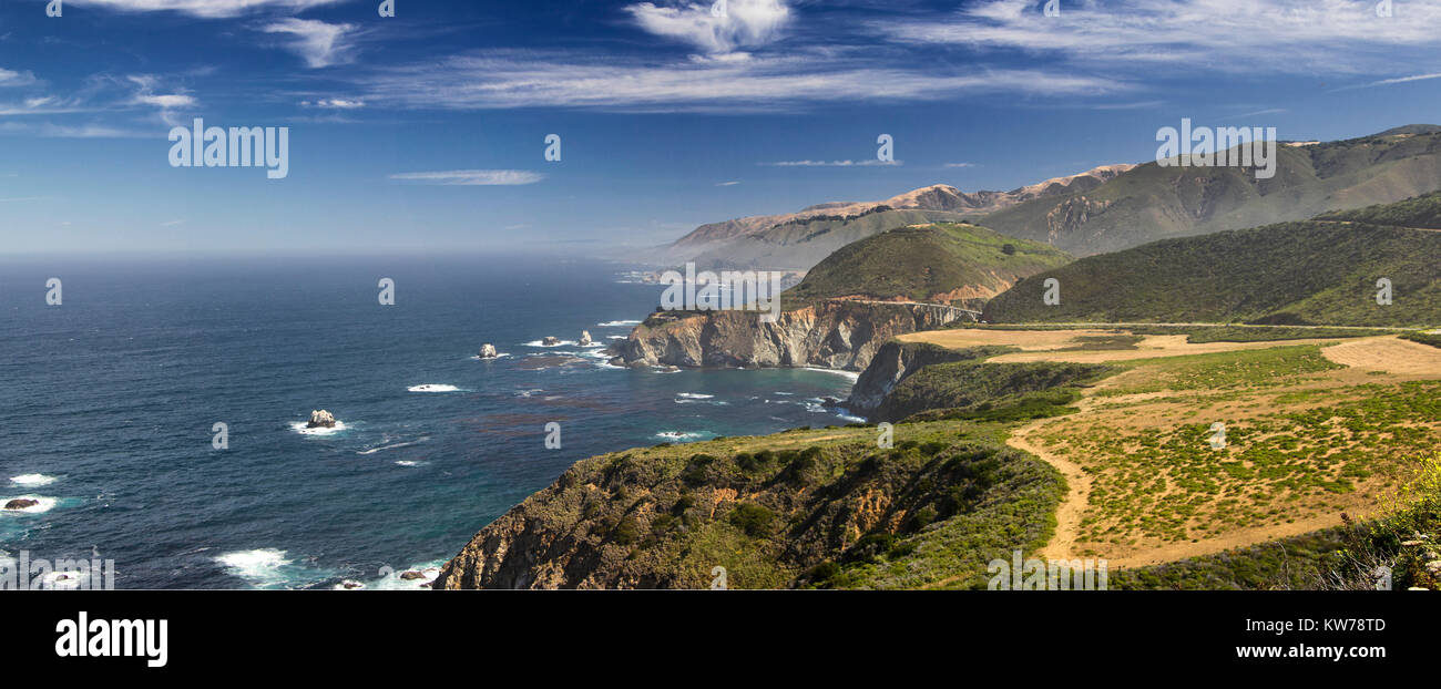 California Pacific Coast Highway - Stock Image