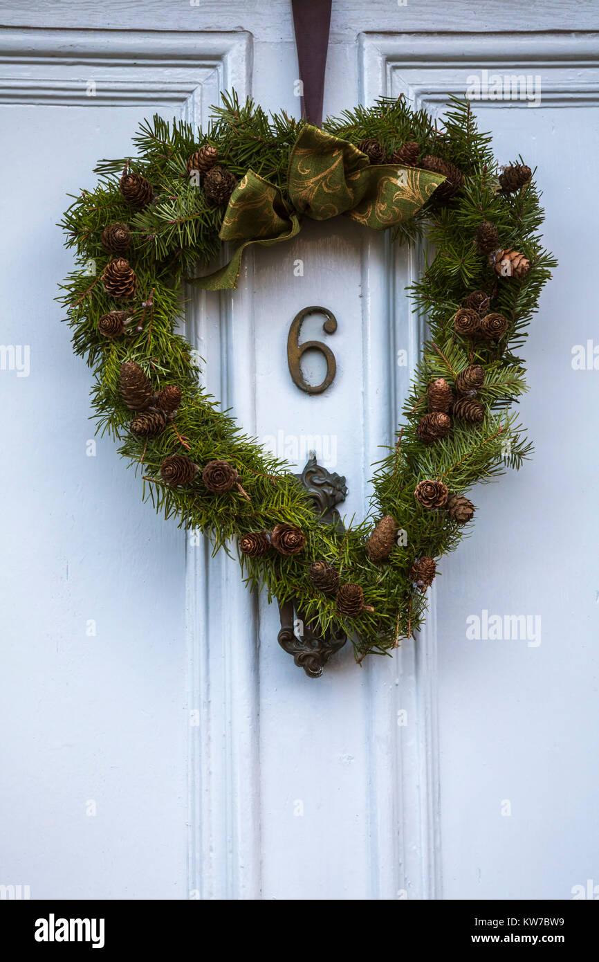 Heart Door Wreath Uk