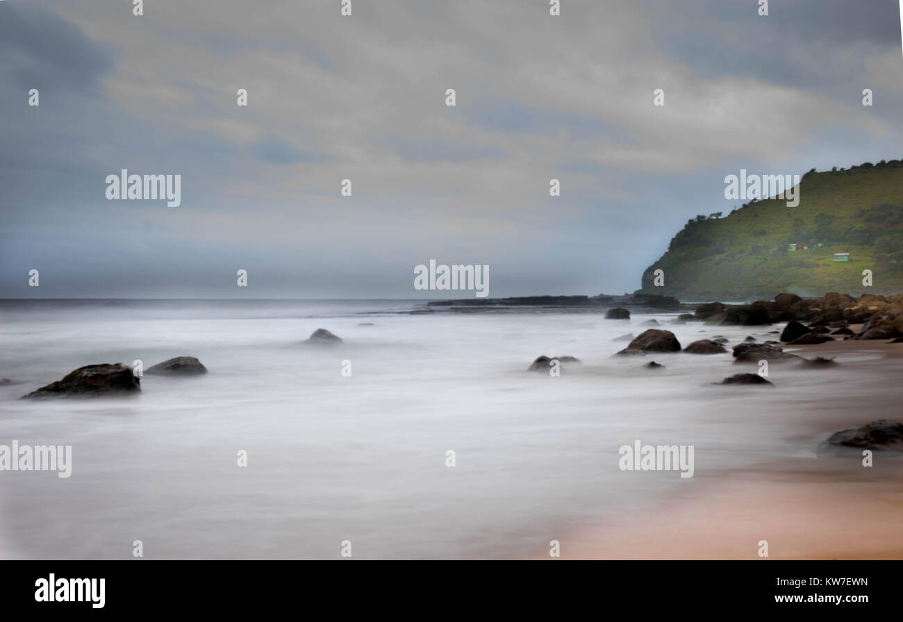 longexposure and sunrise - Stock Image