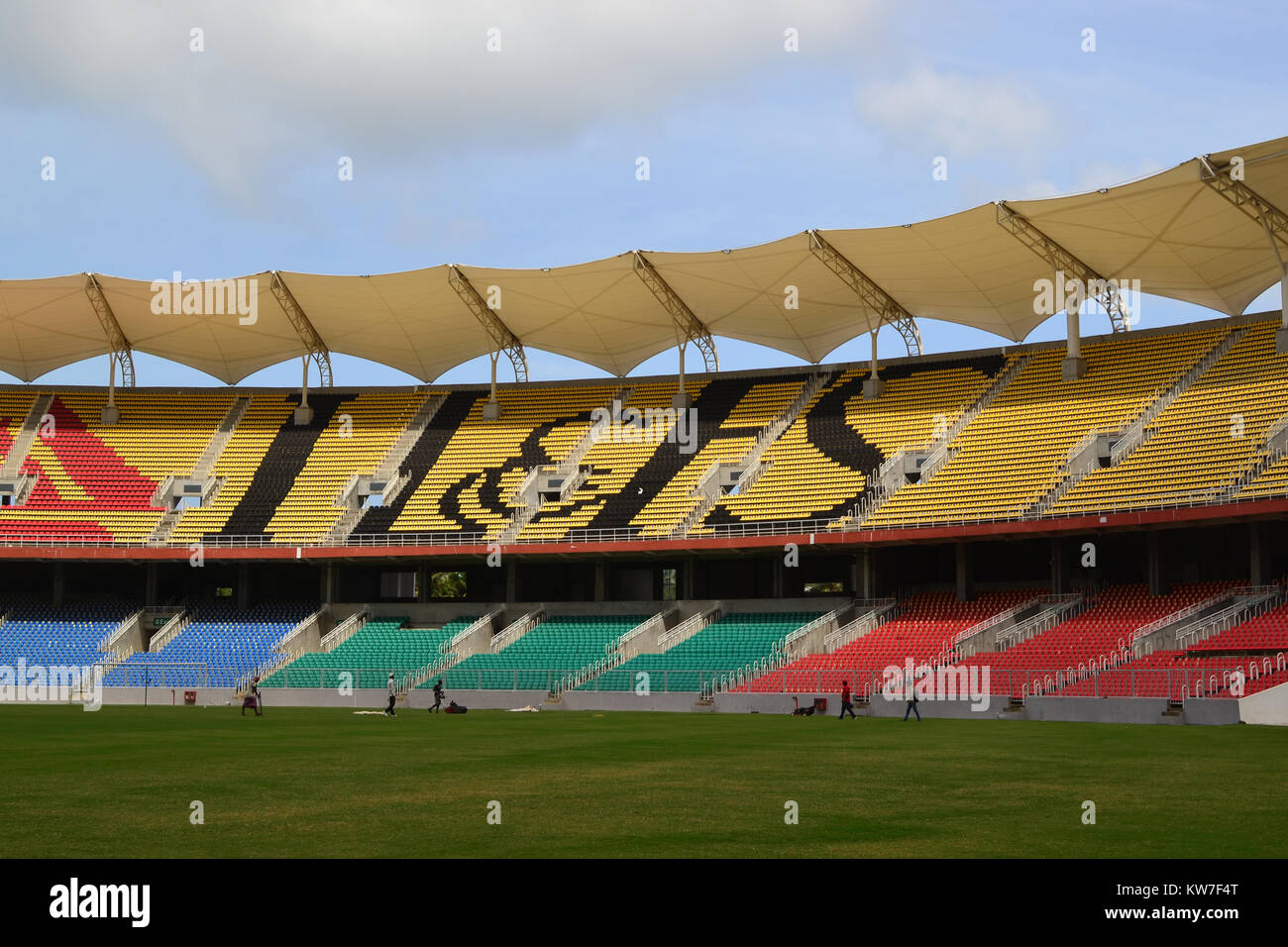 Greenfield Stadium, Trivandrum - Stock Image