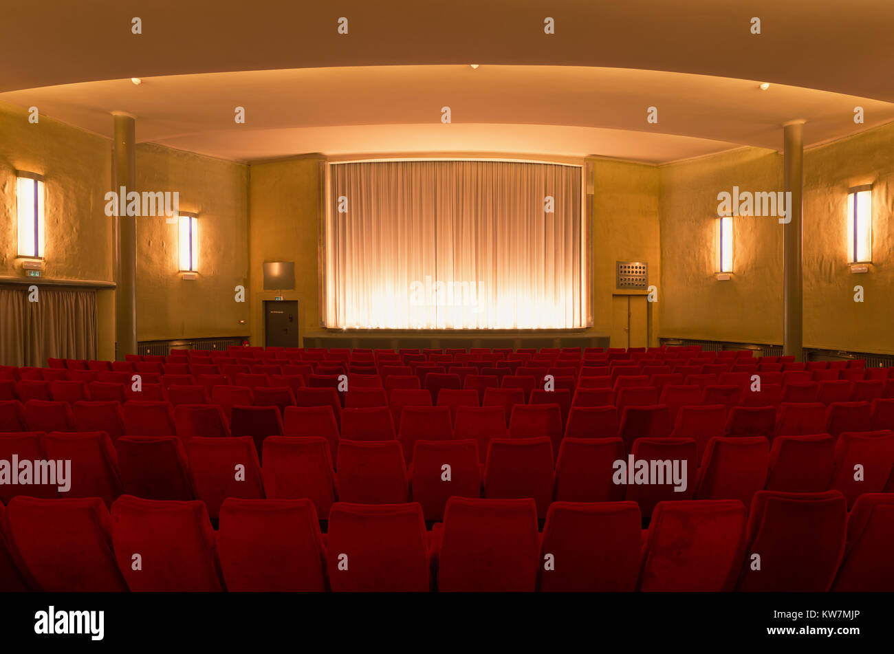 Anzeiger Hochhaus, Kino, Madsack, Hannover - Stock Image