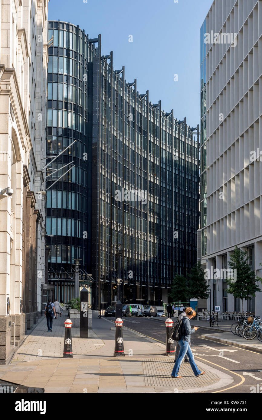 10 Fleet Place, Ludgate by architect Adrian D. Smith of  Skidmore Owings & Merrill, City of London, UK - Stock Image