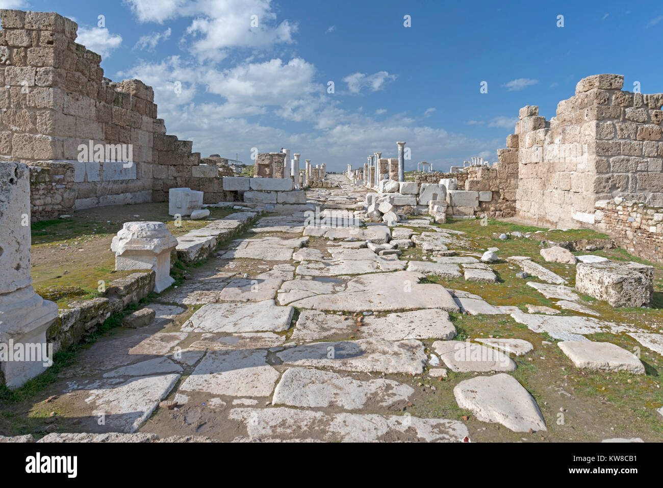 JANUARY 24,2015 DENIZLI.Laodiceia was located in the Hellenistic regions of Caria and Lydia, which later became - Stock Image