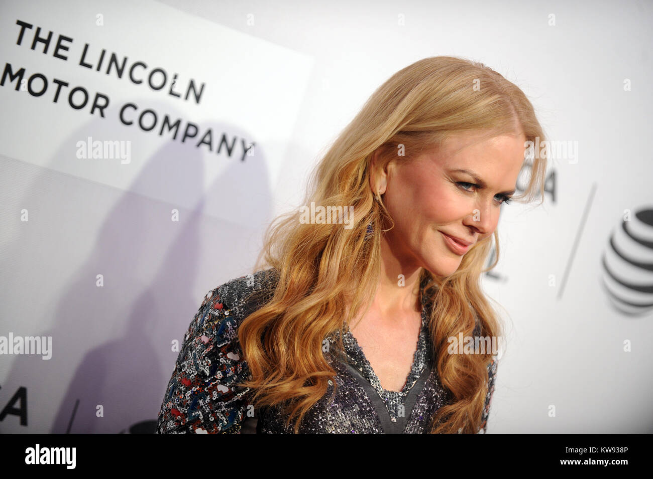 New York Ny New York Ny Nicole Kidman Attends The Premiere Of Stock Photo Alamy