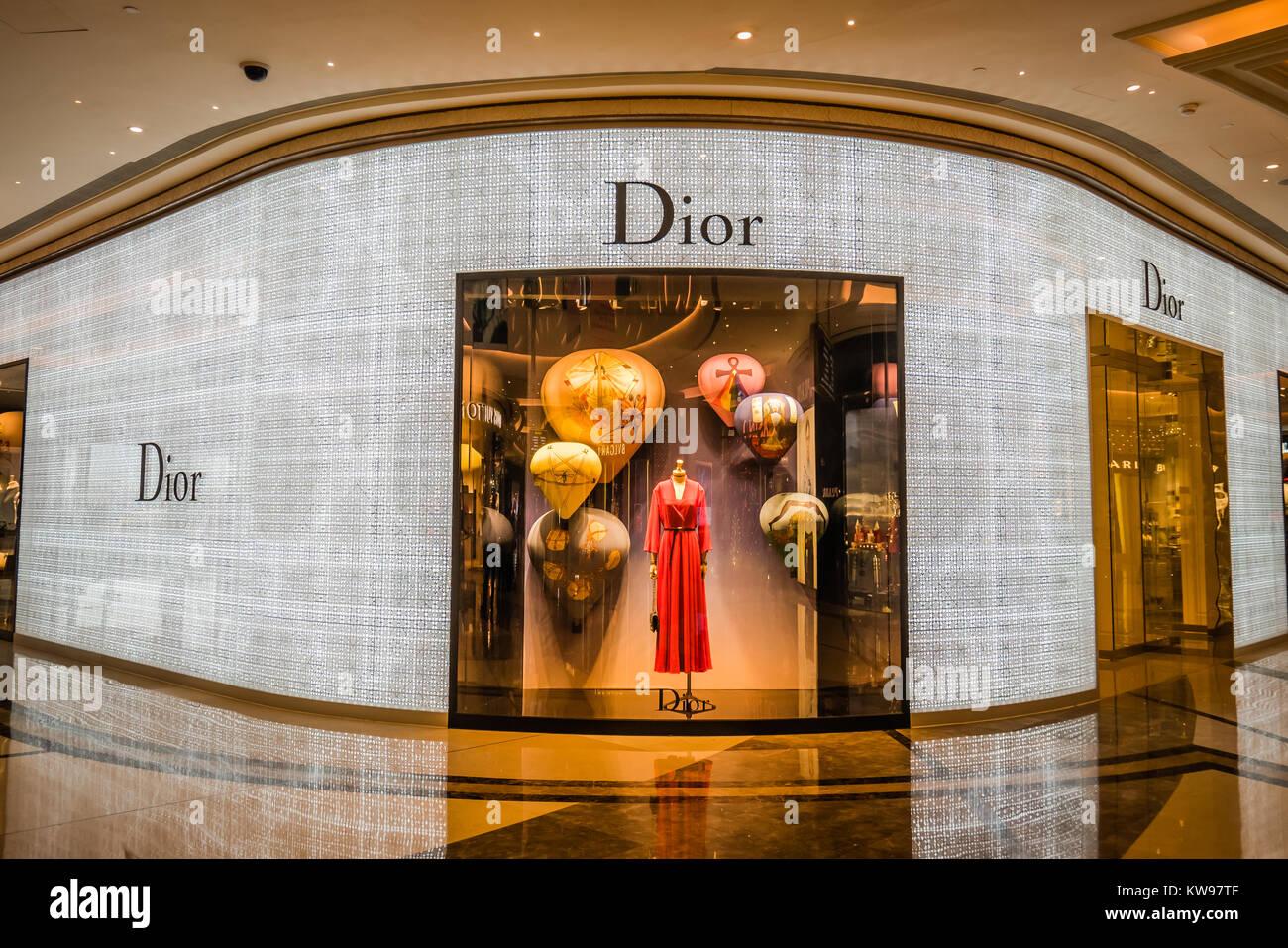 dior luxury store - Stock Image