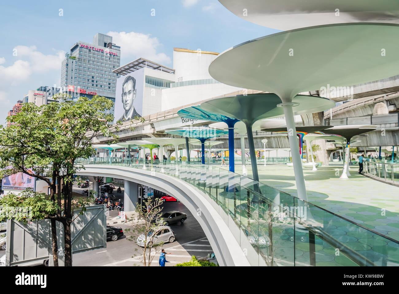 bangkok mbk shopping center - Stock Image
