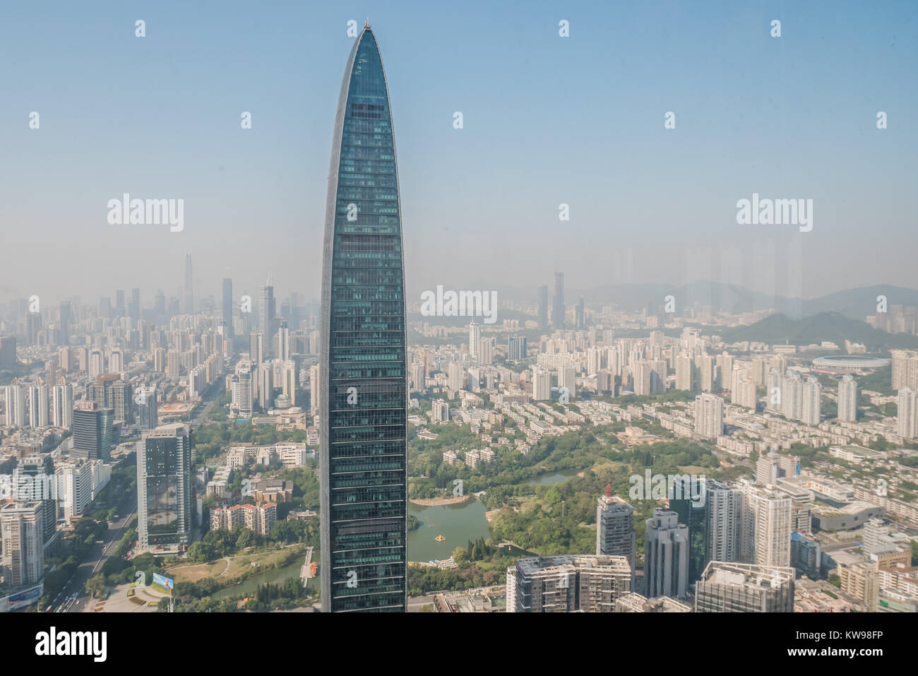 Shenzhen is an urban city in China - Stock Image