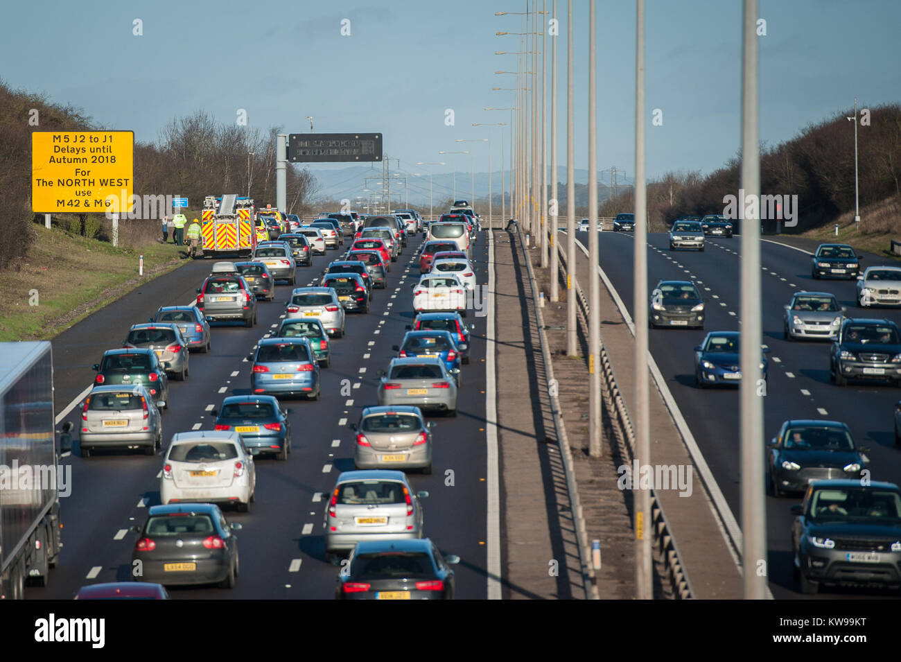 Accident Recovery M5 Stock Photos & Accident Recovery M5