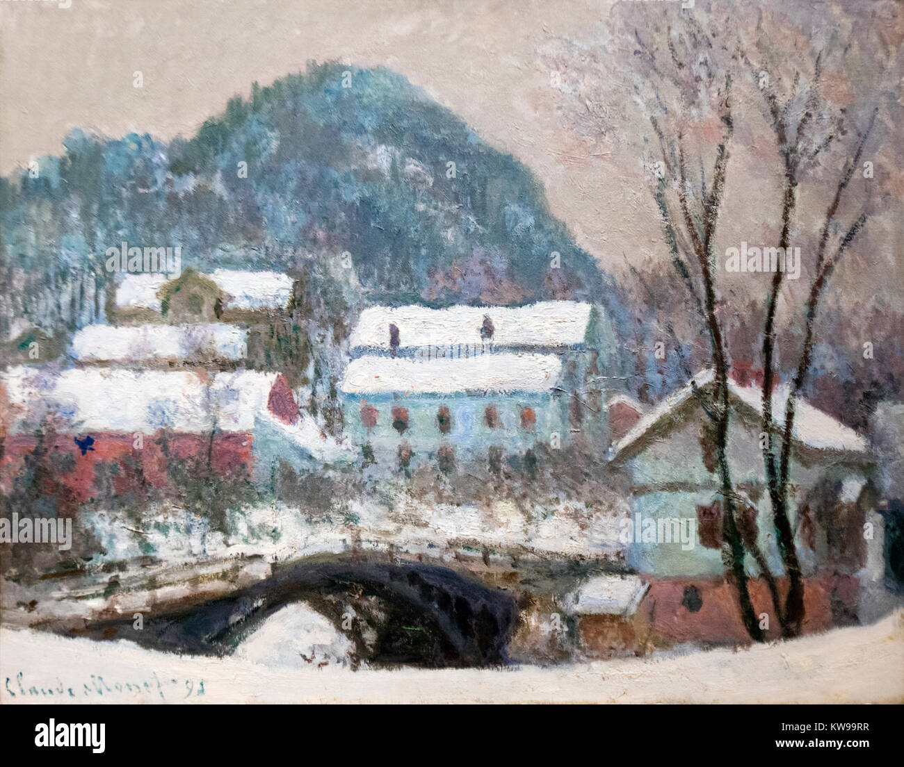 Claude Monet Paintings High Resolution Stock Photography And