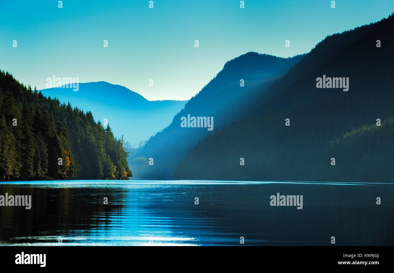 Vancouver Island, British Colombia Stock Photo