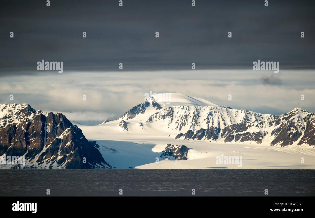 Northern Svalbard Stock Photo