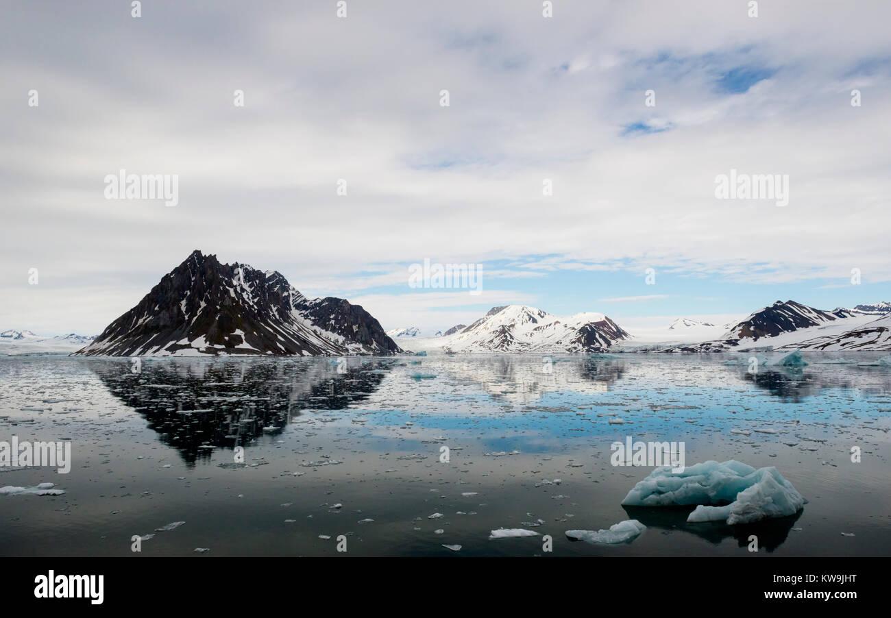 Hornsund, Svalbard Stock Photo