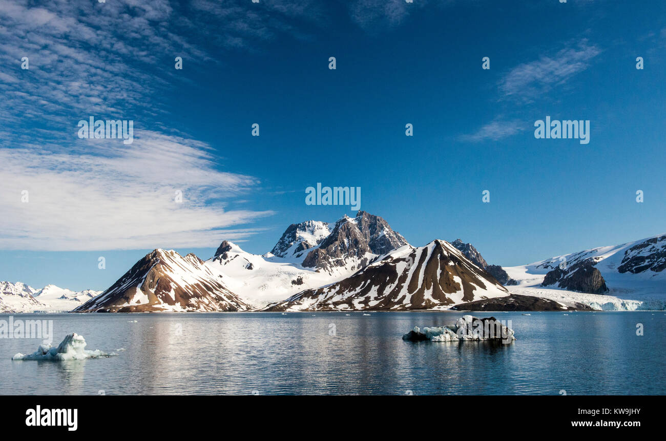 Hornsund, Svalbard Stock Photo