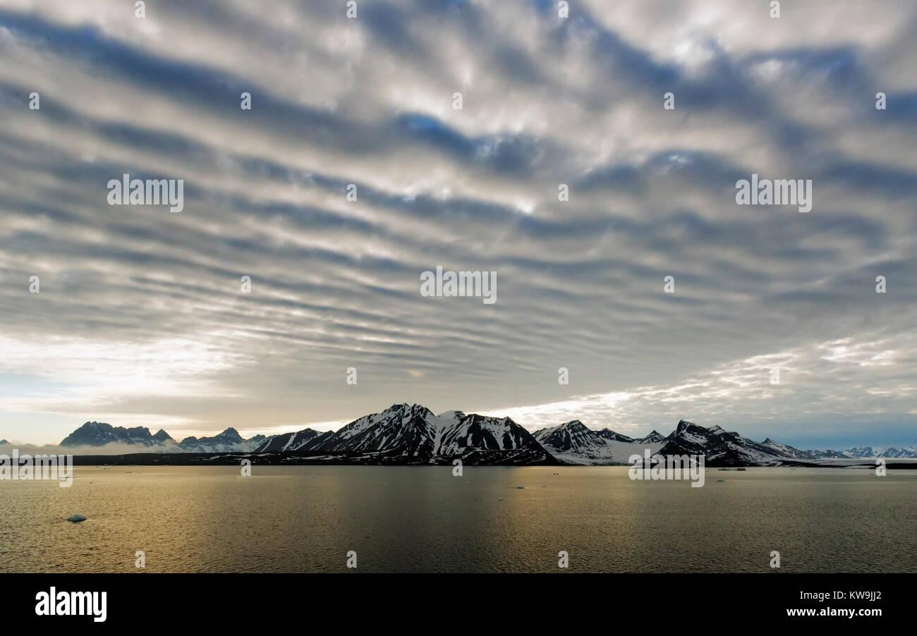 Hornsund , Svalbard Stock Photo