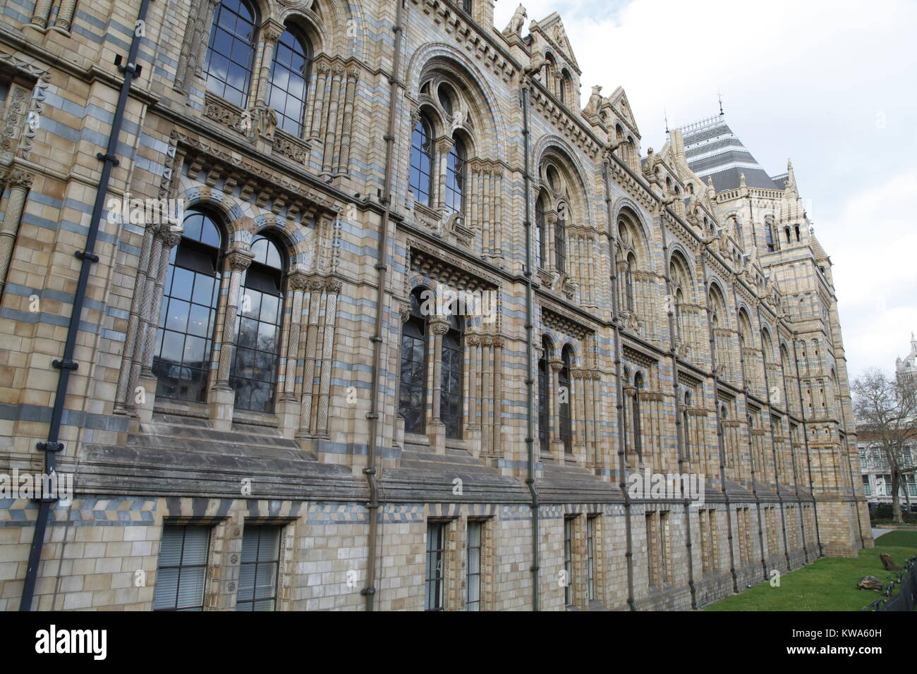 Natural History Museum - NHM - London - Stock Image