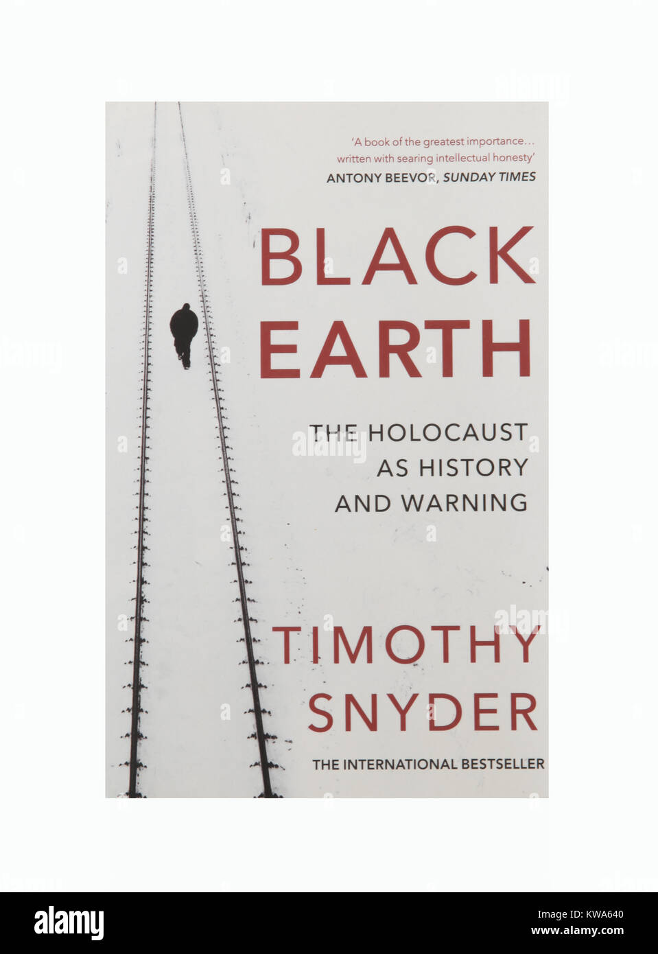 The book Black Earth - The Holocaust as History and Warning by Timothy Snyder - Stock Image