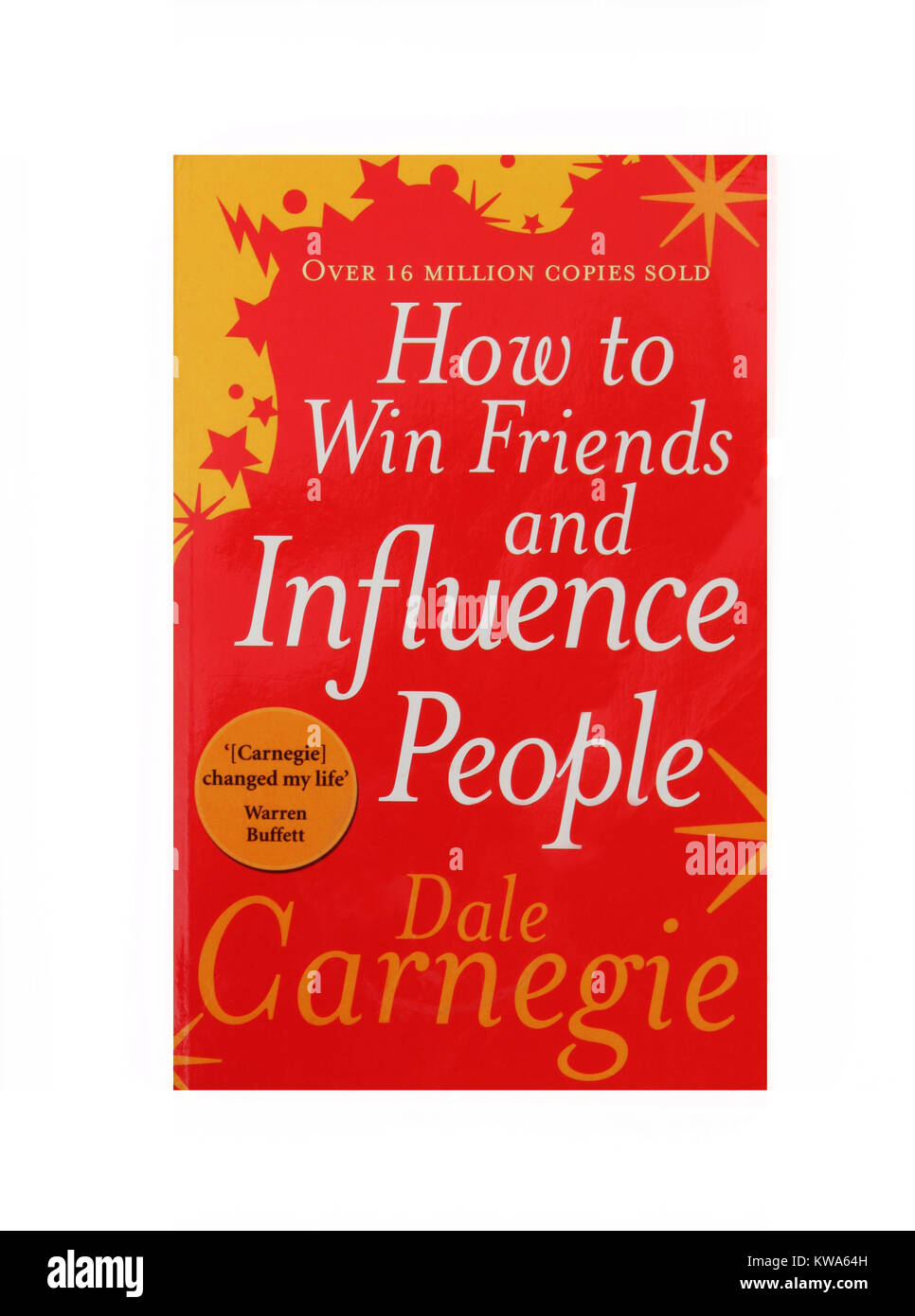 The book, How to win friends and influence people by Dale Carnegie - Stock Image