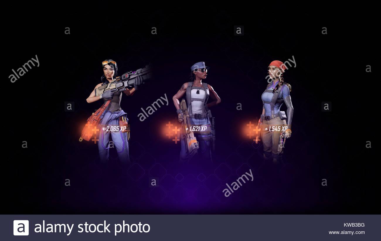 Agents of Mayhem screenshot - Stock Image