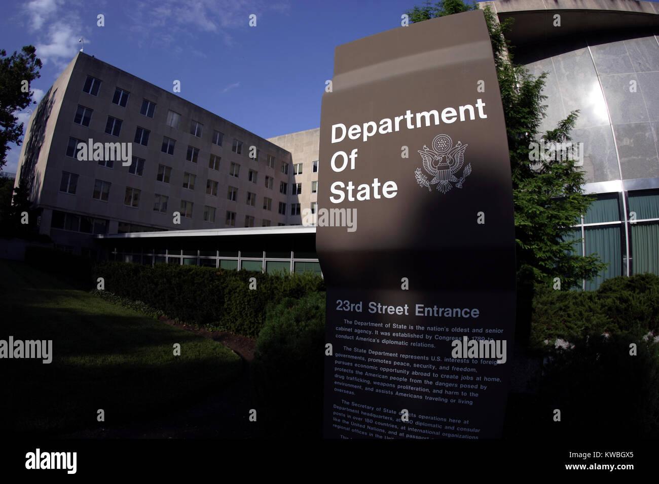 State Department Building, Washington, D.C. Stock Photo
