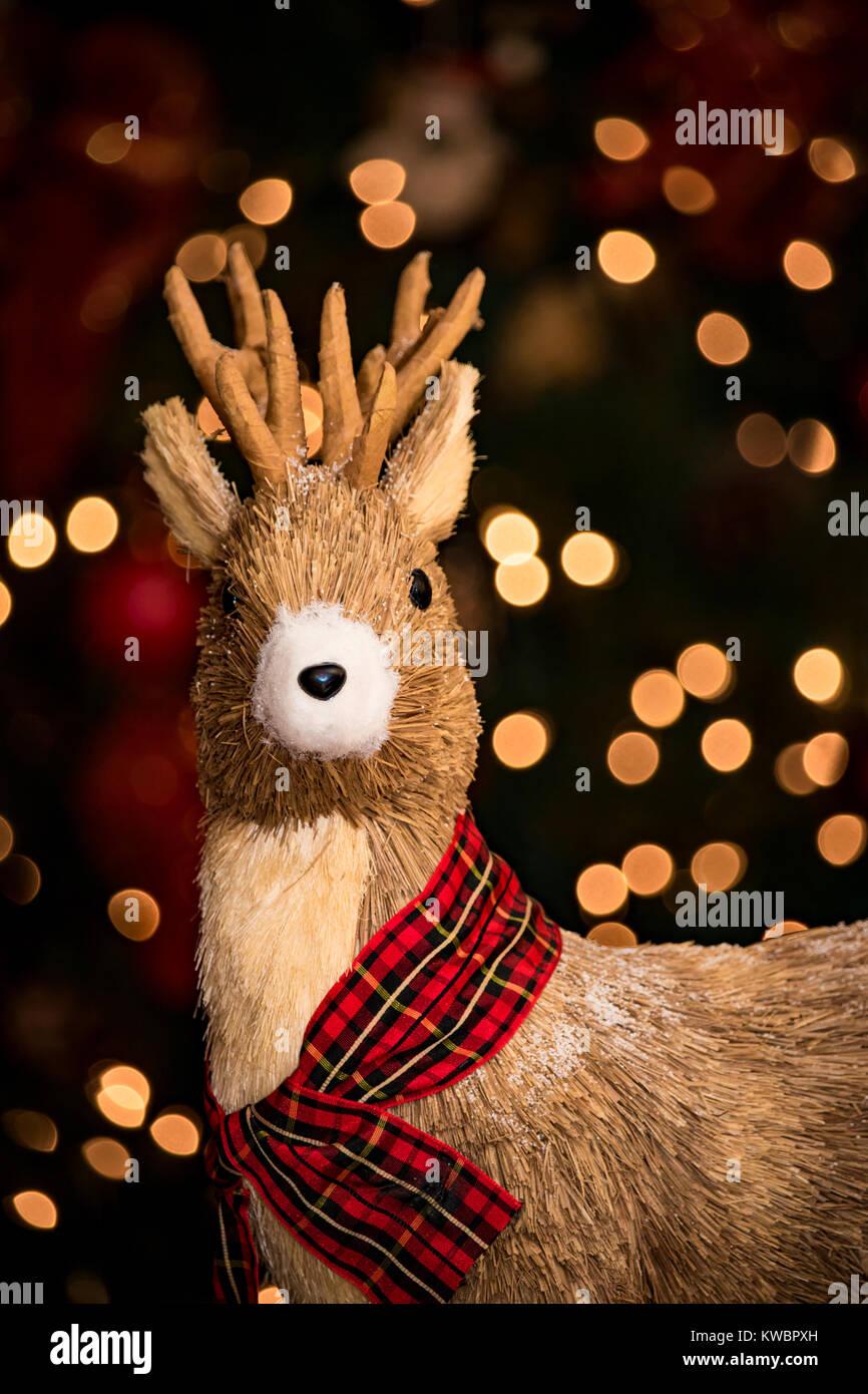 Reindeer Decoration - Stock Image