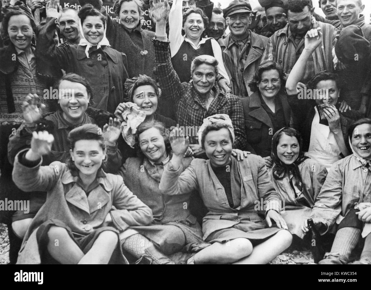 Liberation of the Dachau concentration camp