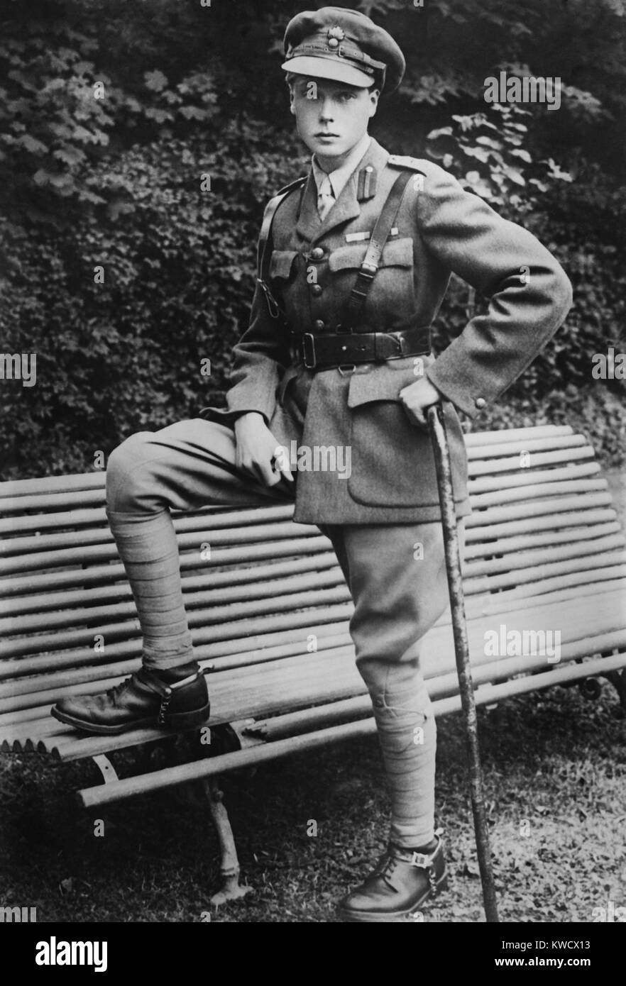Prince of Wales, the future Edward VIII, of Britain, c. 1915 (BSLOC_2017_1_85) - Stock Image