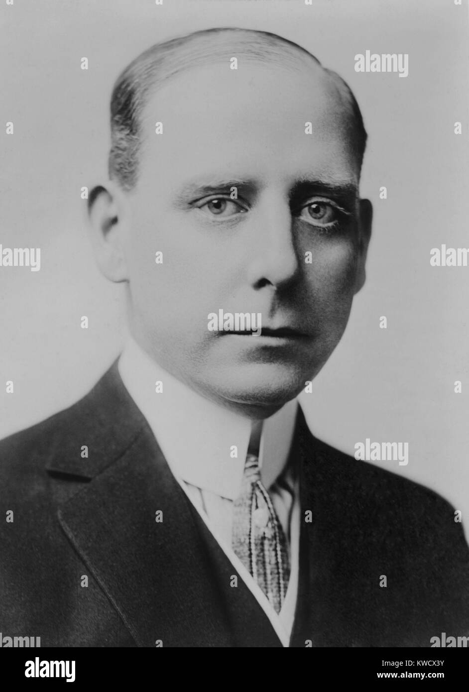 Frank Hague, powerful New Jersey political boss was Mayor of Jersey City from 1917-1947. He was portrayed by actor Stock Photo