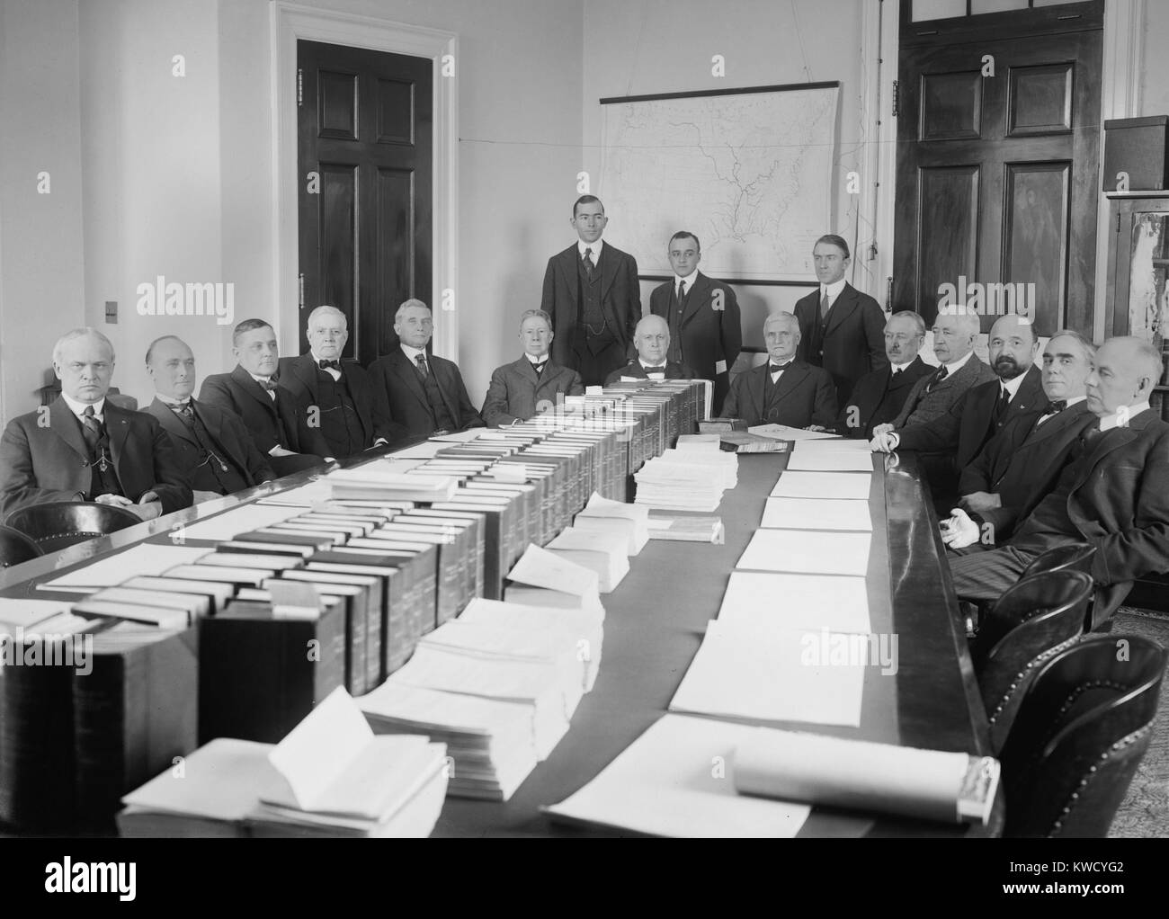 House Rules Committee, Convening In Jan. 1917 During The 65th United States  Congress. House Speaker, Champ Clark Sets In Center Right At The End Of The  ...
