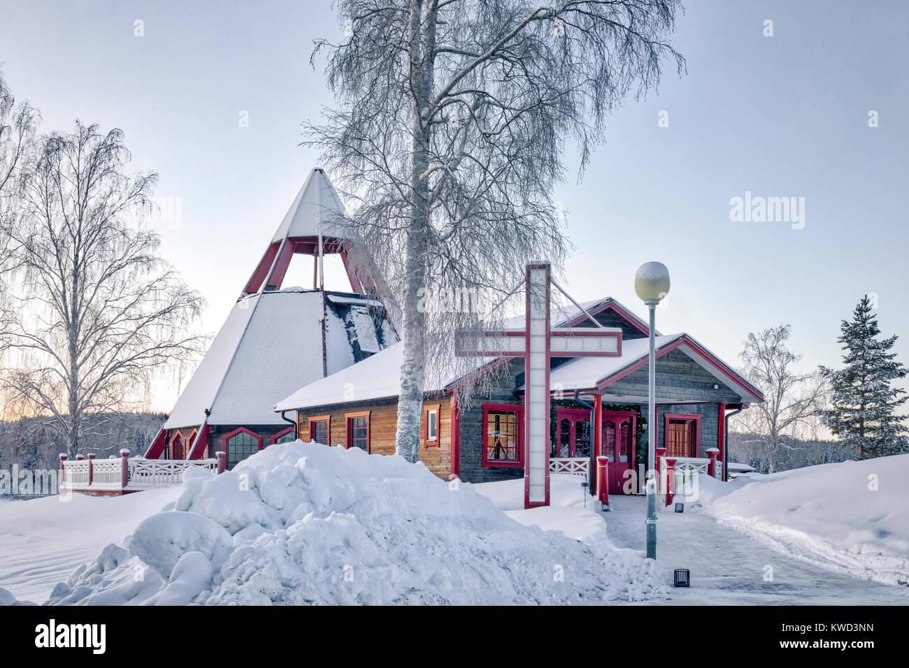 Storforsen, Swedish Lapland, Sweden, Europe - Stock Image