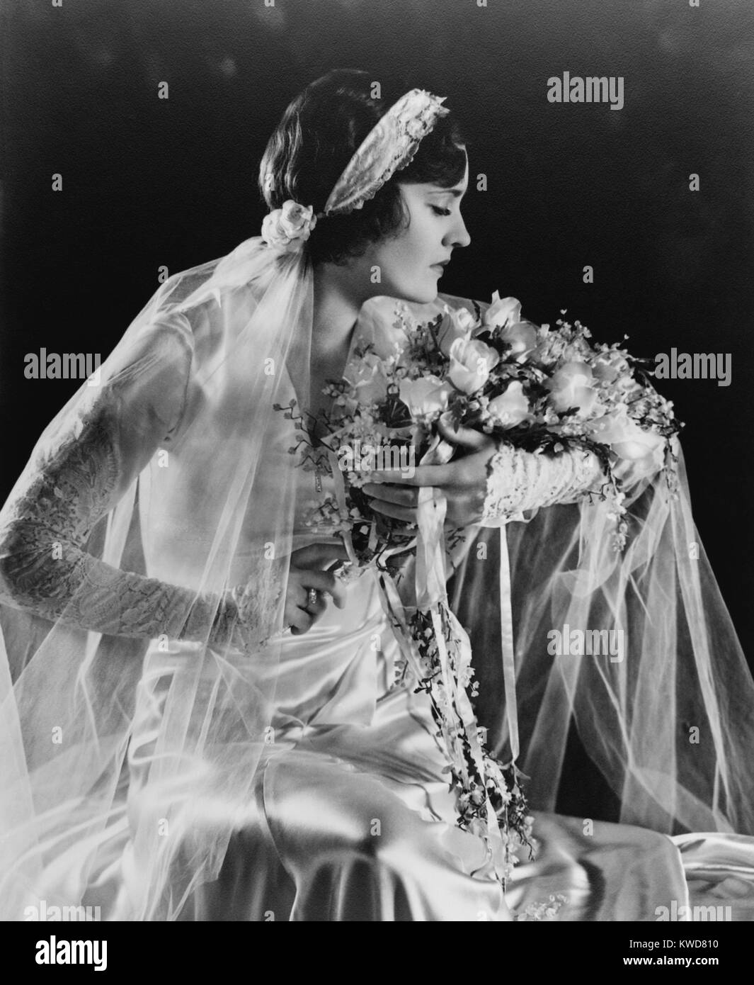 Wedding Flowers Black And White Stock Photos Images Alamy