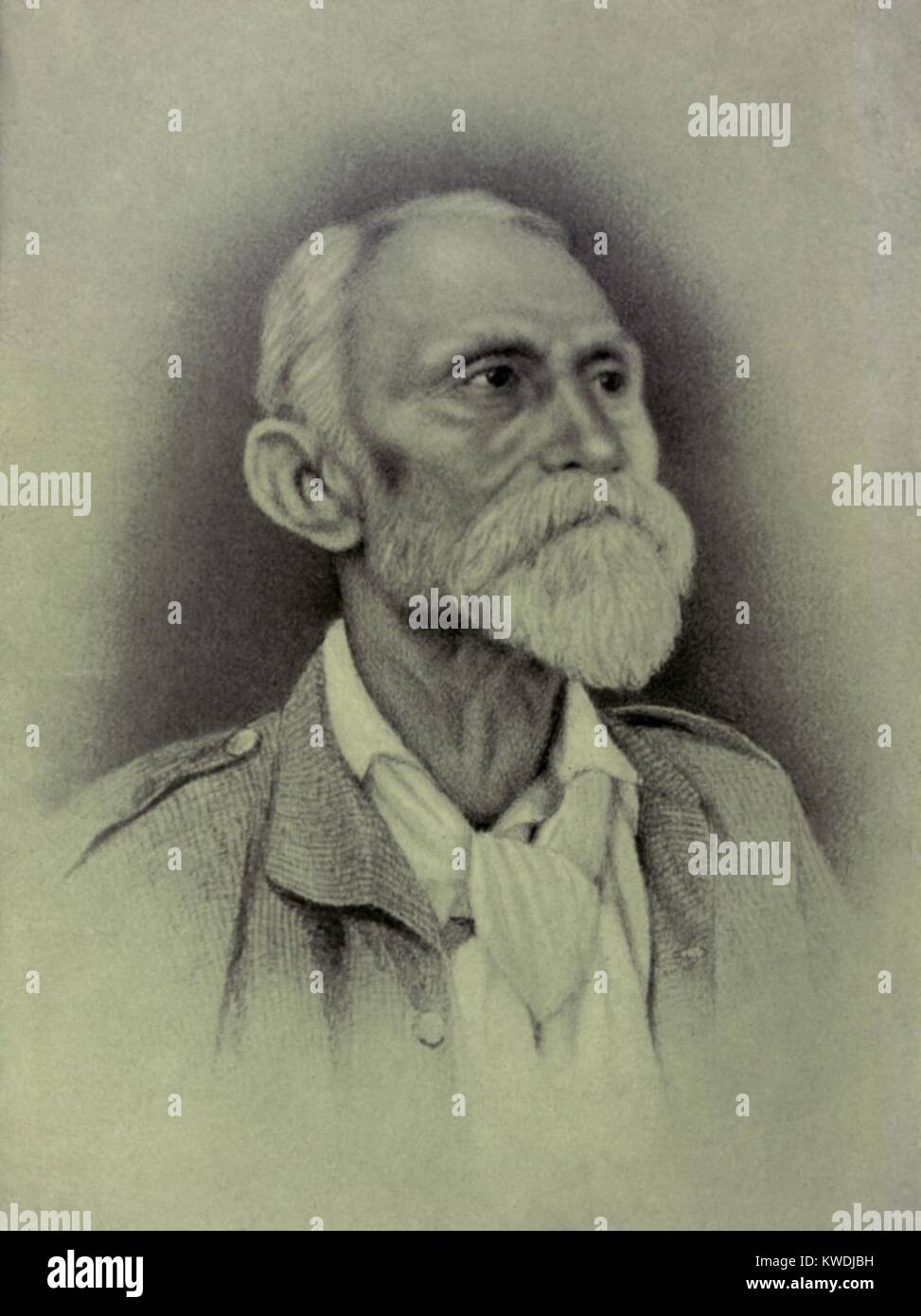 General Maximo Gomez, was a Cuban commander in Ten Years War (1868–78) against Spain. He served again in the Cuban - Stock Image