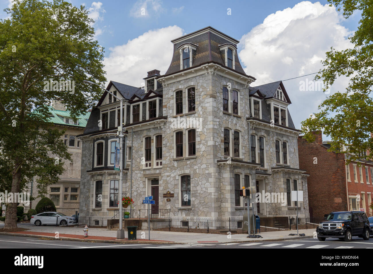 The Association of Independent Colleges and Universities of Pennsylvania, N 101 Front St, Harrisburg, Pennsylvania, - Stock Image