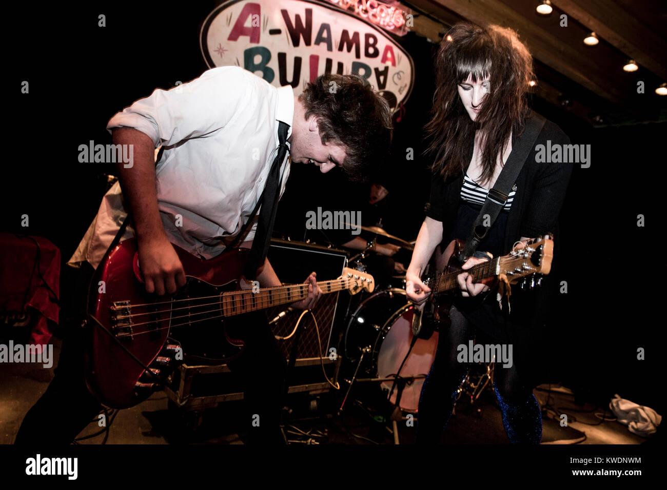 Barcelona, Spain. October 02, 2017. Concert by Ming City Rockers in Marula Café. Organized by A Wamba Buluba. - Stock Image
