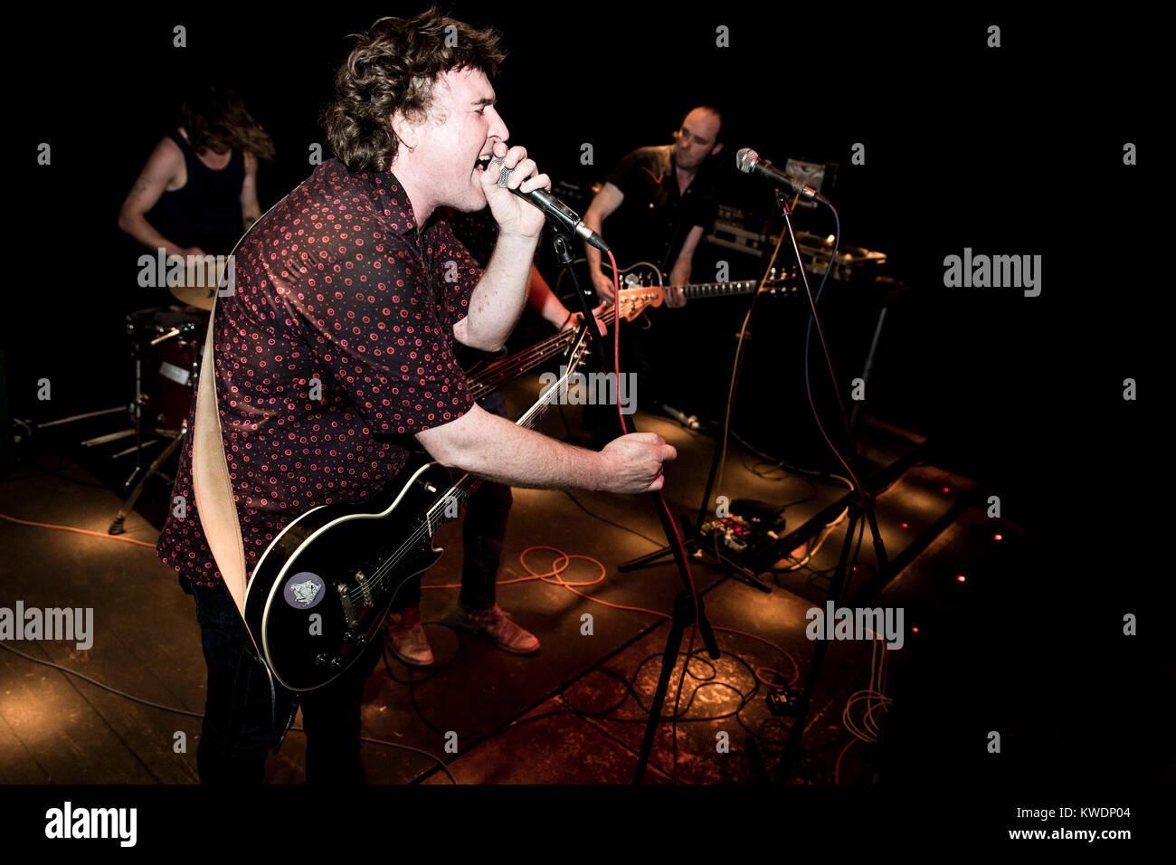 Barcelona, Spain. October 27, 2017. Concert by James McCann in Marula Café. Organized by A Wamba Buluba. Photographer: - Stock Image