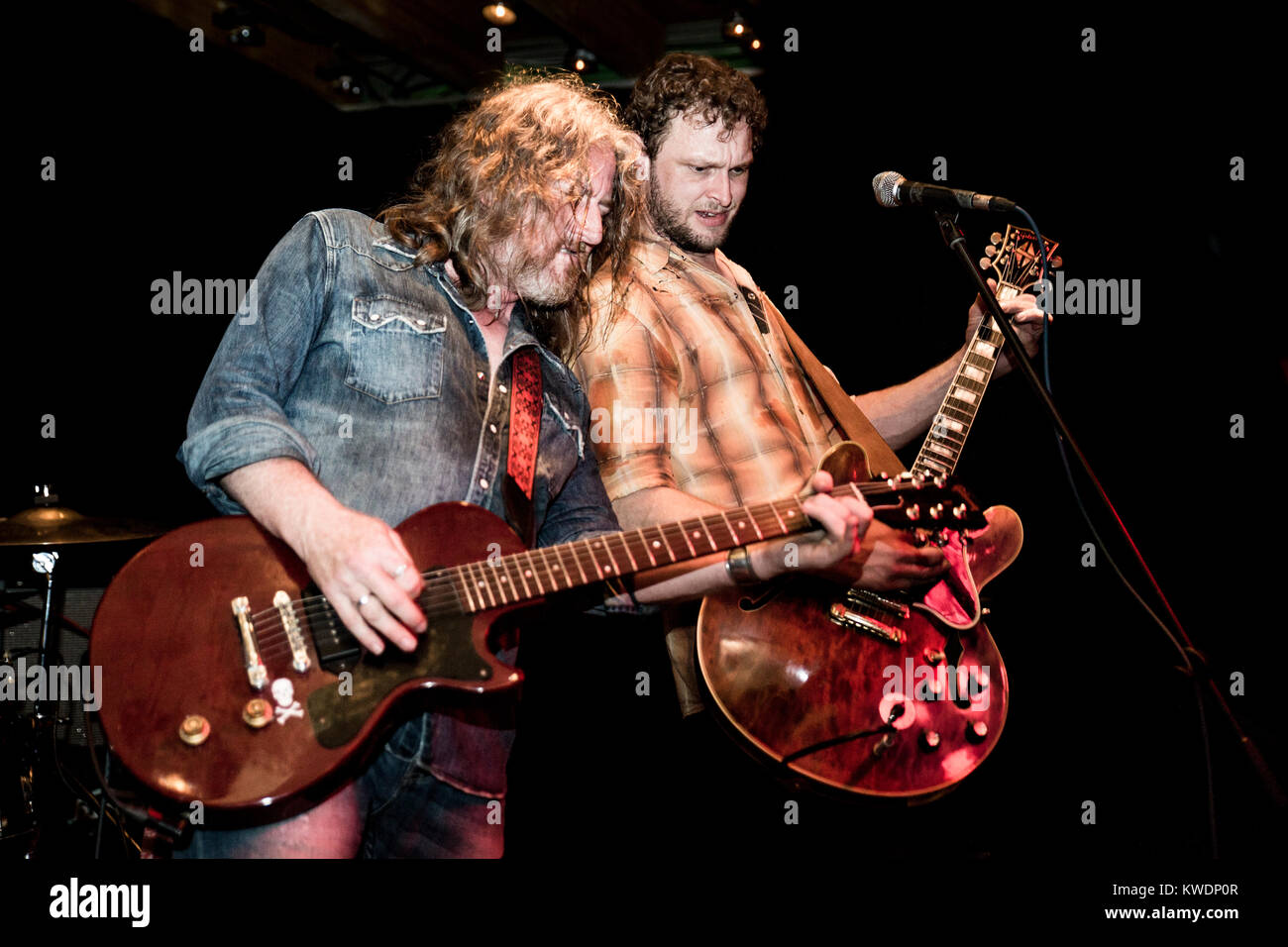 Barcelona, Spain. October 27, 2017. Concert by Leadfinger in Marula Café. Organized by A Wamba Buluba. Photographer: - Stock Image