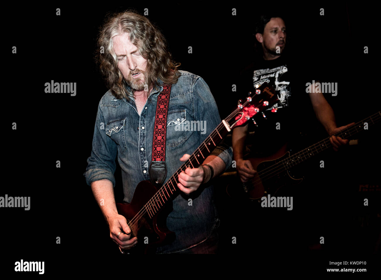 Barcelona, Spain. October 27, 2017. Concert by Leadfinger in Marula Café. Organized by A Wamba Buluba. Photographer: - Stock Image