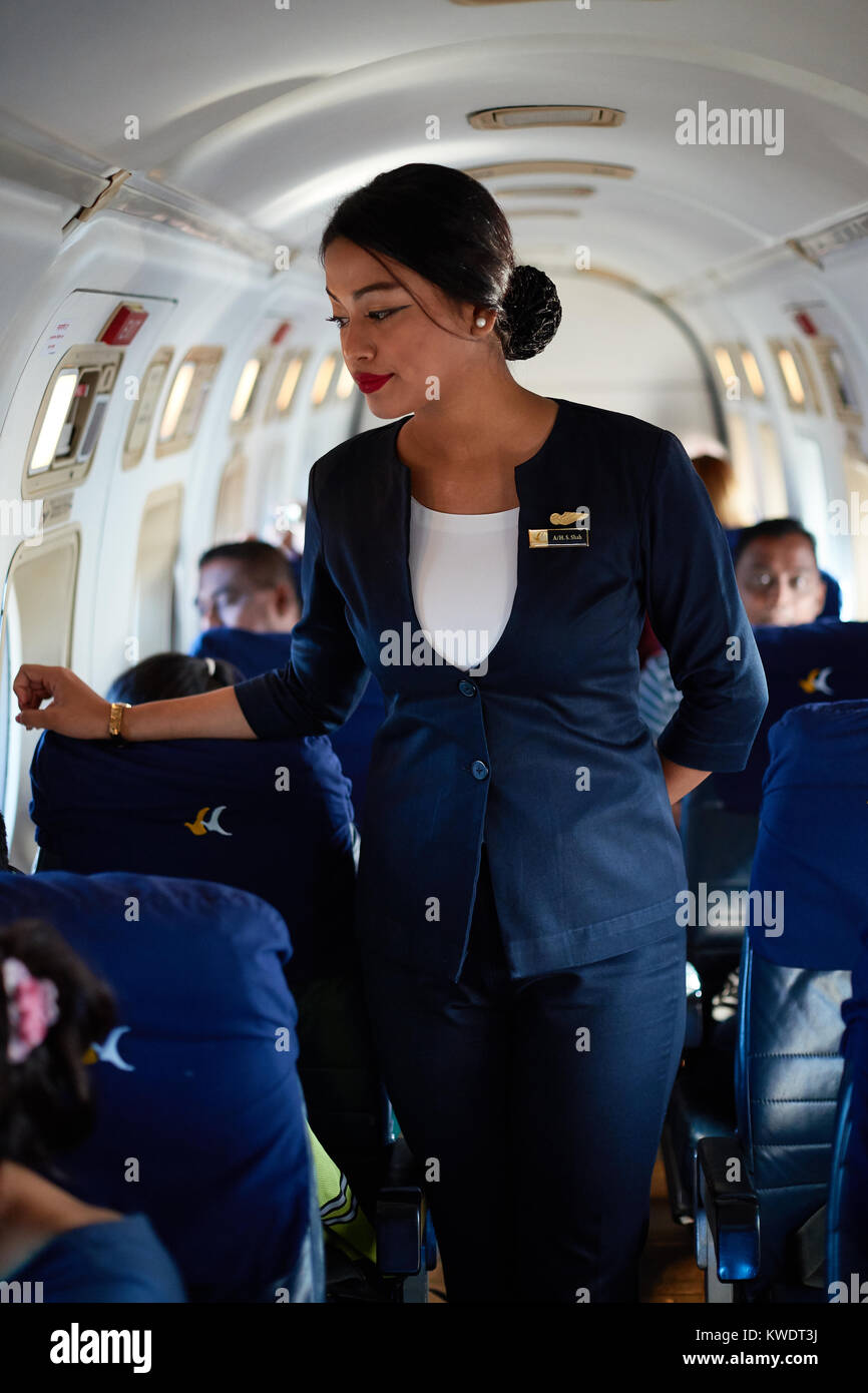 Airline Milf air hostess stock photos & air hostess stock images - alamy
