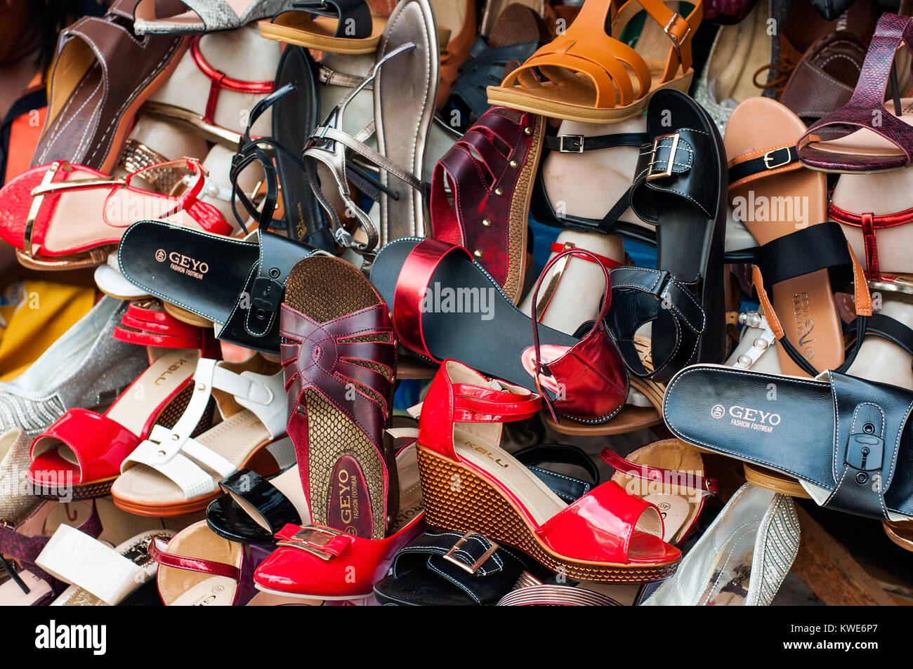 1bc35df42e8 Display of shoes on sale
